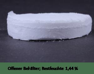 Lyoprotect Restfeuchte 140 nach Lyophilisierung mit Membrane für sterile Gefriertrocknung
