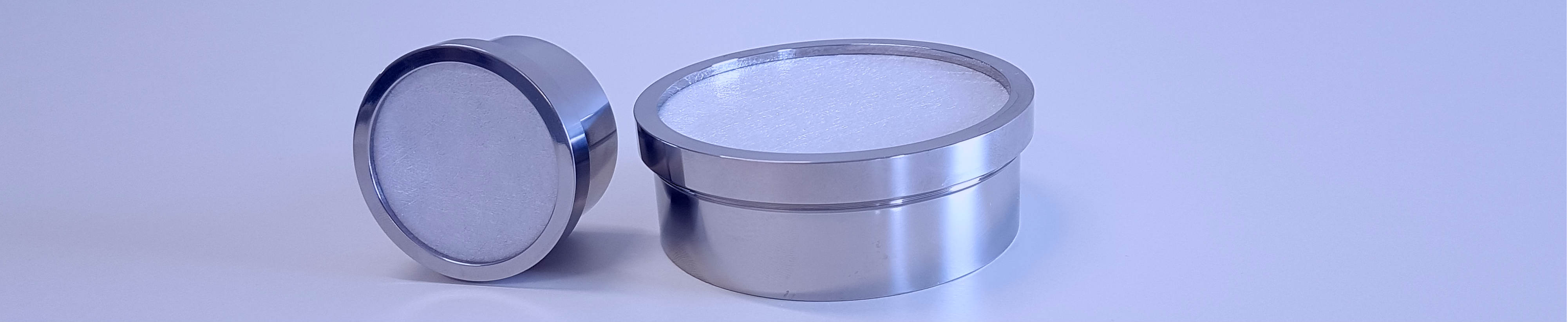 Lyoprotect Cups in stainless steel