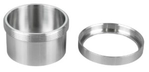 Lyoprotect® Stainless Steel Cup VXS with screw-on ring cover