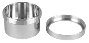 Lyoprotect® polished Stainless Steel Cup VXS with screw-on ring cover